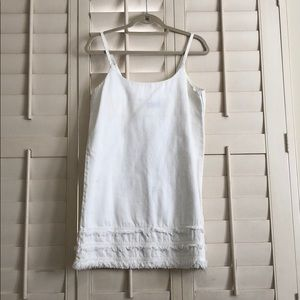 The fifth label white denim dress
